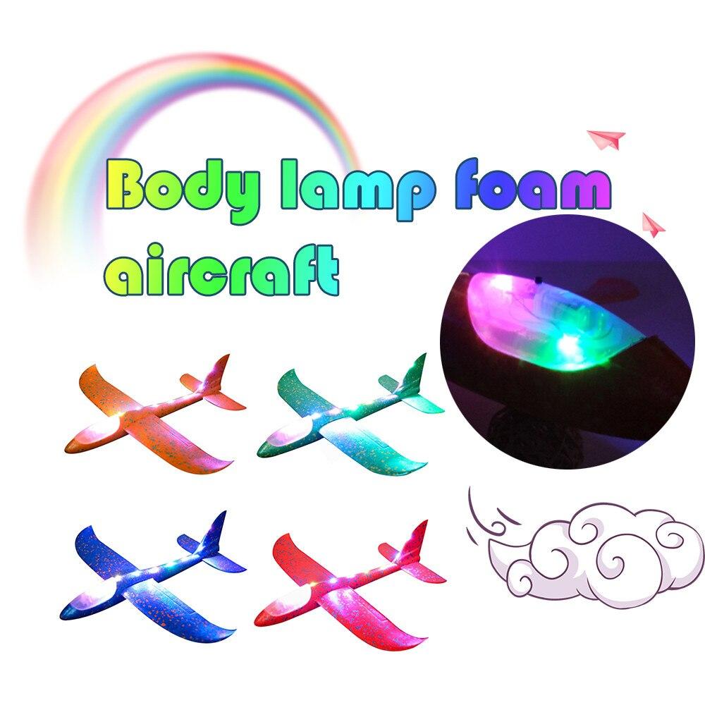 2017 12pcs Diy Hand Throw Flying Glider Planes Foam: DIY Kids Toys Hand Throw Flying Glider Planes Foam
