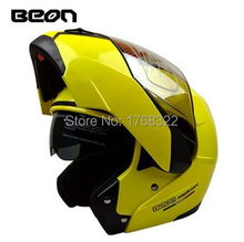 Free Shipping Best-Selling Full Face racing motorcycle helmet Modular Flip up Helmet Safe ECE Approved BEON B700