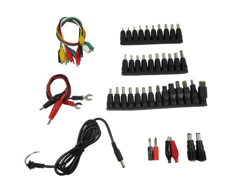 48 pcs/set Universal AC DC Jack Charger Connector Plug for