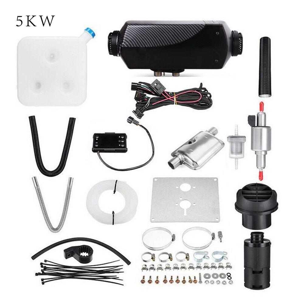 2/3Kw 5kw 8KW ЖК дисплей/ручка/цифровой переключатель одно отверстие нагреватель с Глушитель Черный плед
