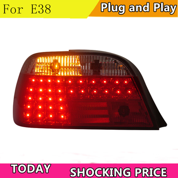 doxa Car Styling for BMW E38 728 730 735 740 750 Rear Lights 1995-2002 E38 LED Tail Light Altis Rear Lamp DRL+Brake+Park+Signal image