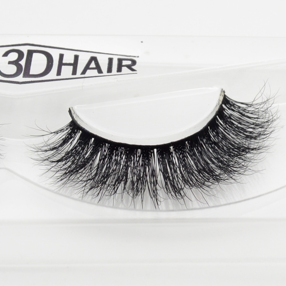 Visofree 3D Mink Eyelashes Upper Lashes 100% Real Mink Strip Eyelashes Handmade Crossing Mink Eye Lashes Extension A06