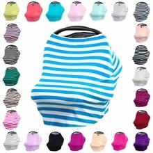 Multi-Use Stretchy Baby Shower Gave til Gutter og Jenter - Infinity Scarf for Mom - Handlekurv og High Chair Covers