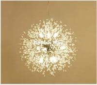 Darmowa wysyłka kryształ lampa wisząca D60cm złoty/Chrome wisiorek światła jadalnia pokój dzienny pokój zawieszenie Nordic wisiorek oświetlenie w Wiszące lampki od Lampy i oświetlenie na