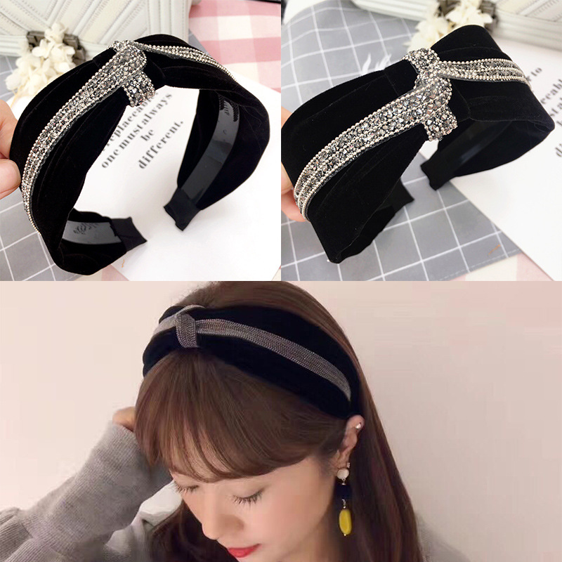 Girl's Hair Accessories Apparel Accessories Humorous Korea Fabric Tie Knot Hair Bands Rabbit Ears Hairband Flower Crown Headbands For Girls Hair Bows Hair Accessories D We Have Won Praise From Customers
