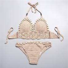 Bohemian Knitted Bikini