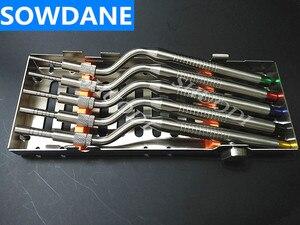 Image 3 - 5 adet Set diş Implant bitki osteotom cihaz kemik ekstruder diş diş çıkarma aracı sinüs kaldırma bükülmüş kaset kılıfı
