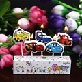5pcs Cars Candle Lightning McQueen Birthday Cake Decoration Creative Birthday Cake Candles For Party