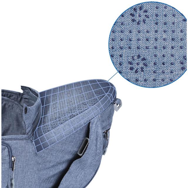 Sunveno Original New Ergonomic Baby Carrier Breathable Infant Backpack Stool Sling Hipseat Newborn Heaps Baby Kangaroo 20kg Wrap