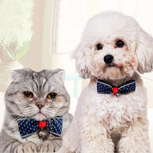 Pet Tie, Adjustable Necklace Dog Accessories Puppy Bow Tie Products Supplies Beauty Festival Decoration