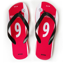 Amsterdam Football Swimming Flip Flops Any Name Number Gift Surfing  Cheering Beach Shoes Fans Sport Slipper 0b233dad6c7a