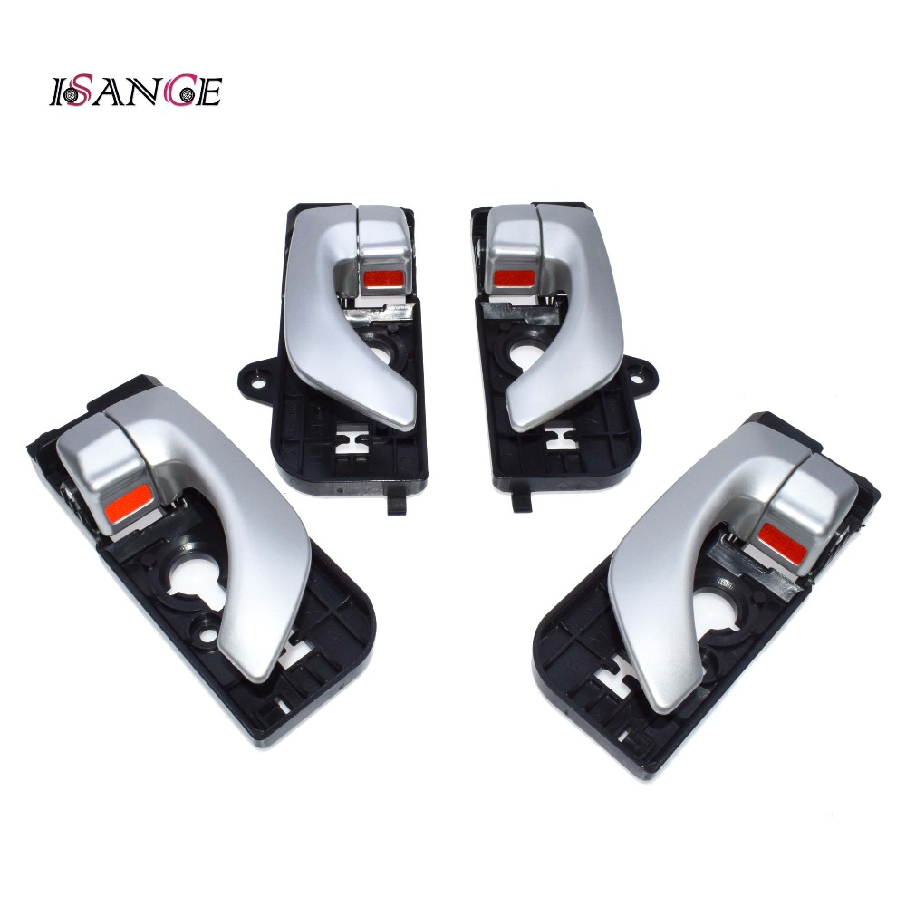 Isance Inside Door Handle Front Rear Left Right Set For