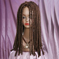 peruca hair queen Gothic Style Afro Blacks Costume Women Long Rolls Curly Kinky Brown Hair rizado largo natural peluca