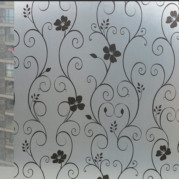 decorative frosted privacy window film sticker household decoration width 80cmchina - Decorative Window Film