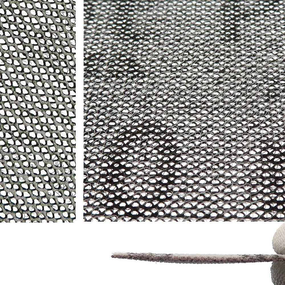 15 Pcs ตาข่ายขัดฝุ่นฝุ่นละออง 3 นิ้ว 75 มม. Anti - blocking แห้งบดกระดาษทราย 80 240 กรวด
