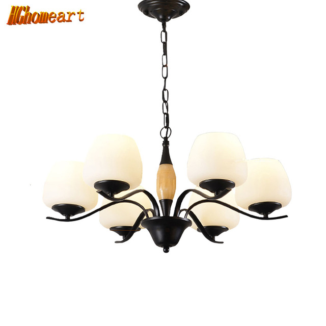 hghomeart 110v220v e27 spiral iron classic contemporary chandeliers led living room chandelier baby suspension - Contemporary Chandeliers For Living