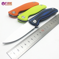 BMT Wild Boar F3 Tactical Folding Knife 30 EVO Blade G10 Handle Pocket Flipper Camping Outdoor
