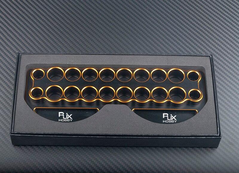 1 шт. инструмент кронштейн отвёртки держатель Золотой Серебряный отвертка хранения рамки 230x85x20 мм запасных Запчасти для RC автомобиль/самоле...