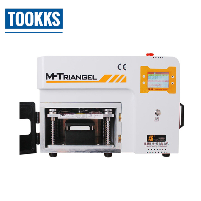 M-Triangel MT-103 LCD OCA Laminating Bubble Remove Machine For Samsung S6 S7 S8 Edge Plus  LCD Touch Screen Glass Repair