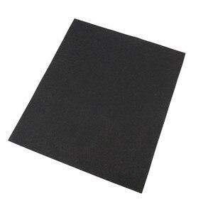 Image 4 - 5 adet ince zımpara fırçalanmış su zımpara kağıdı parlatma taşlama araçları Grit 60 80 120 240 1000 2000 aşındırıcı kağıt