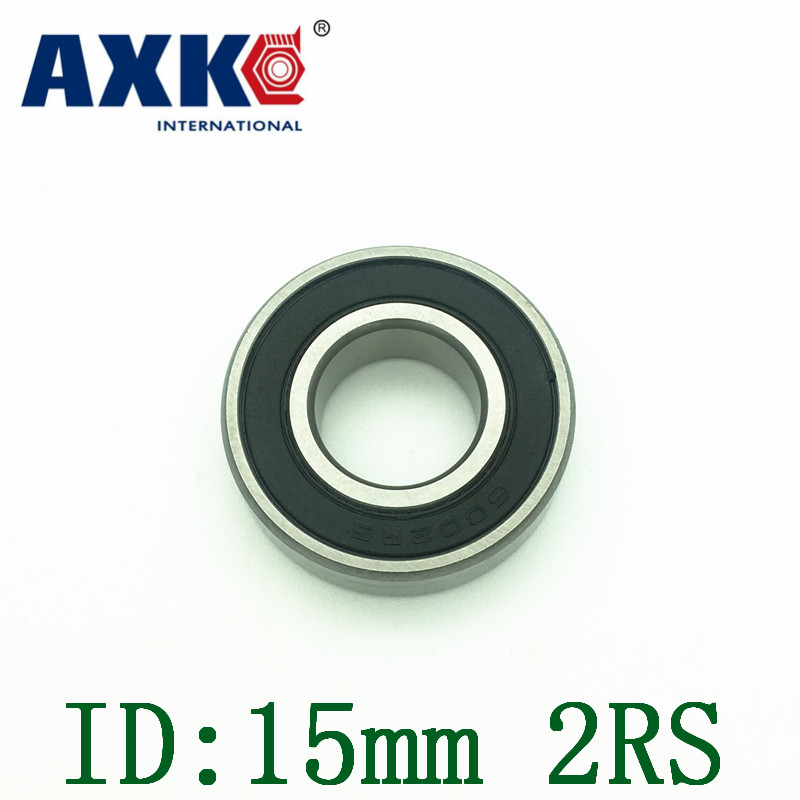 Axk Non-standard Bearing 15mm Id Double Rubber Cover 15*24*5mm 15*28*7mm 15*32*8m 15*32*9mm 15*34*10mm 15*35*11mm 15*38*19mm 15