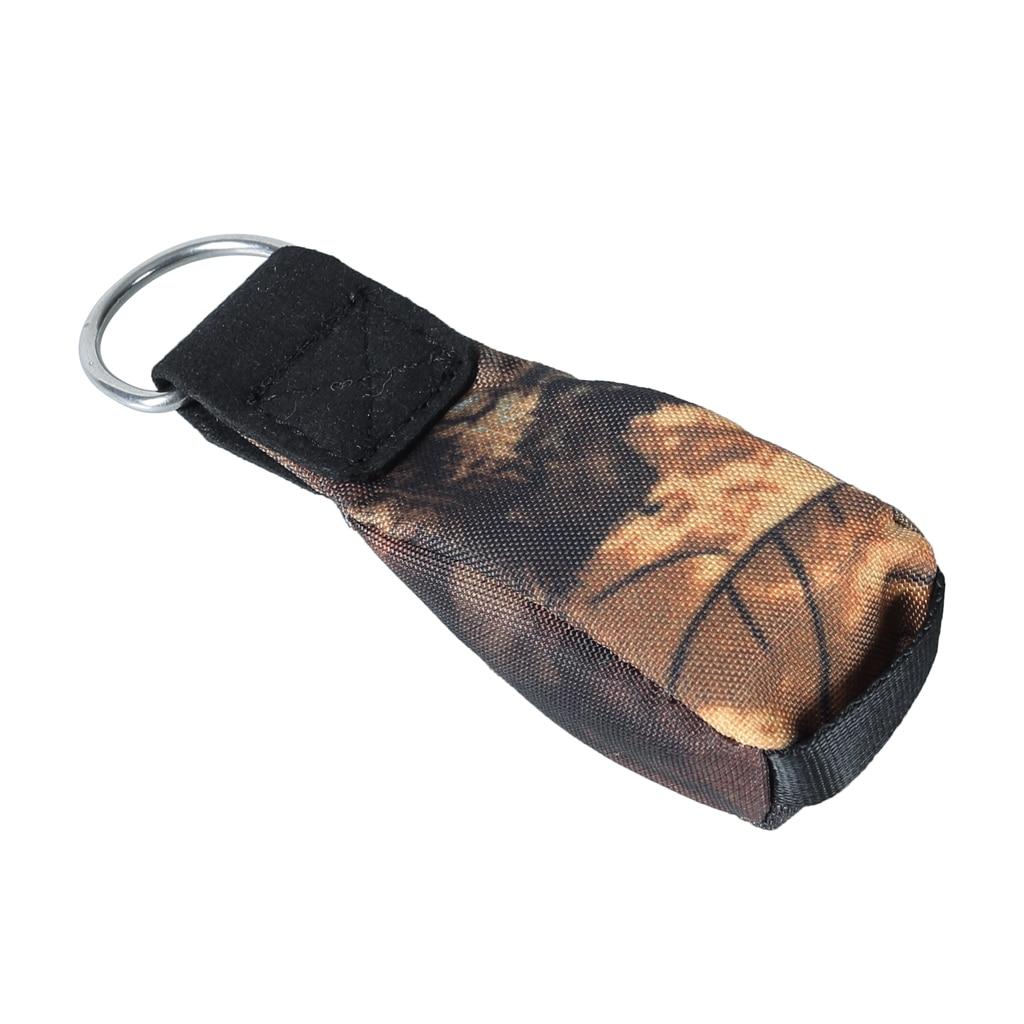 Rock Climbing Tree Arborist Throw Weight Bag Multipurpose Camo Tree Surgeon Rope Bag Gear For Tree Climbing Mountaineering