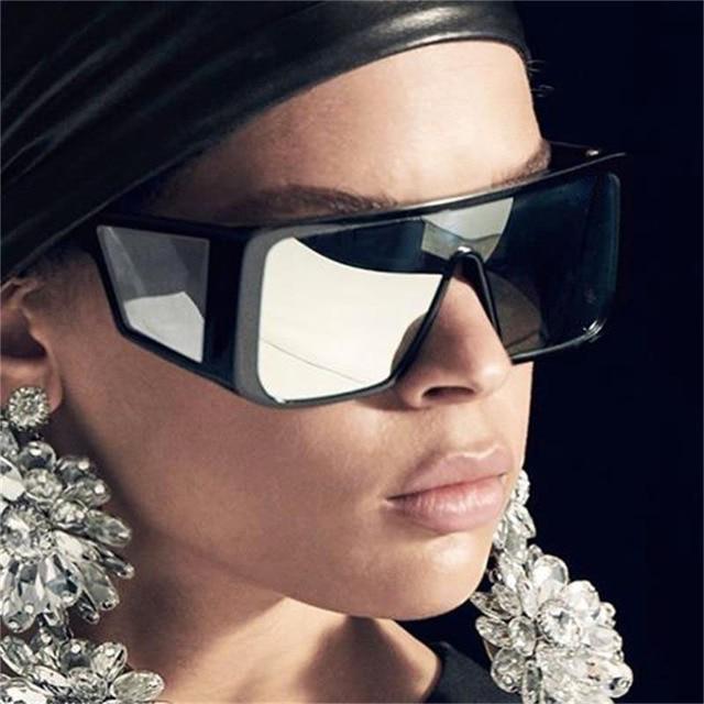Негабаритные прямоугольные Солнцезащитные очки Мужские 2019 Роскошные брендовые Винтажные Солнцезащитные очки Мужские маски очки с ободковой оправой черные солнцезащитные очки UV