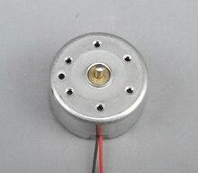 100 PÇS/LOTE 300 Pequeno Motor de Ímã Permanente Do Motor Em Miniatura Pequeno Motor 5 V DC motor de Energia Solar (6.8)
