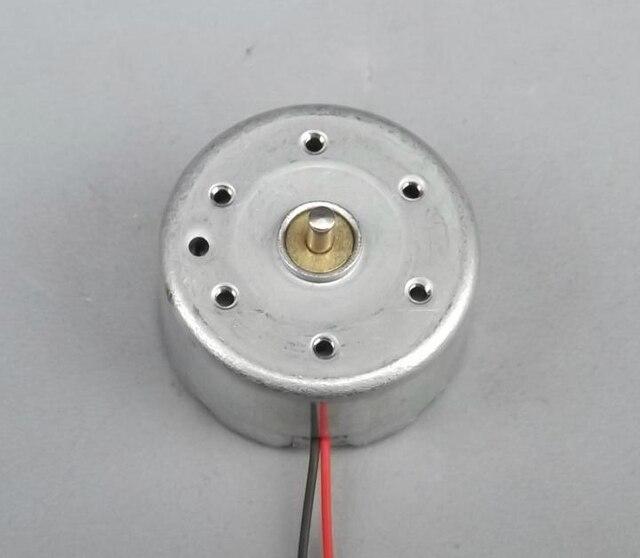 100 PZ/LOTTO 300 Piccolo Motore Miniatura Motore A Magnete Permanente motore Piccolo Motore 5 V DC Solare (6.8)