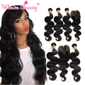 Best Indian Hair Vendors Raw Indian Wavy Virgin Hair With Closure Body Wave 3bundles With Closure www alibaba com Hair Extension