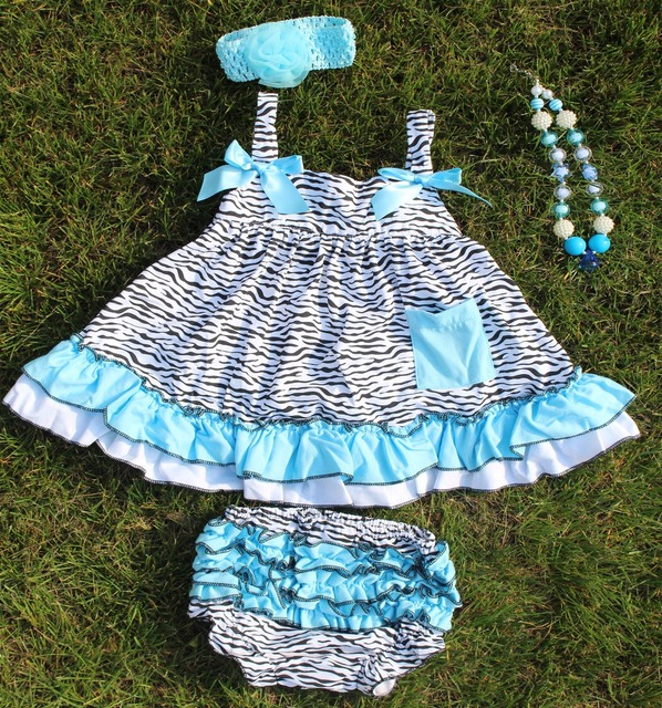 cd2e5e99d528 2016 newborn baby girl clothes clothing sets infant girl ruffled zebra  strip swing tops bloomer set swing outfits swing dress