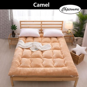 Image 2 - Chpermore Thicken Lamb cashmere Mattress Single double Student Mattresses Foldable Tatami Cotton Cover King Queen Size