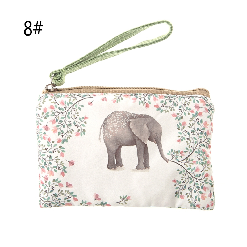 2017 Fashion New Women Canvas Wallet Small Coin Bags Girl Cartoon Zip Card Coin Key Bag Purse Handbag Phone Pouch Canvas Casual japanese pouch small hand carry green canvas heat preservation lunch box bag for men and women shopping mama bag