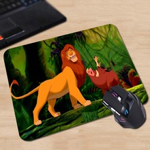 Babaite High quality Best Durable Gaming Mat The King Lion Hakuna Matata Speed Optical Laser Mouse Mice Pad Mat Mousepad