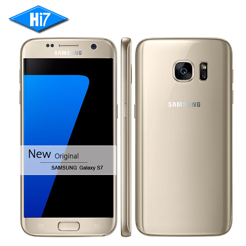 New Original Samsung Galaxy S7 Waterproof mobile phone 5 1 inch 4GB RAM 32GB ROM Octa