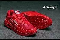 Akexiya Gros et commerce extérieur casual ROUGE chaussures et nouvelles chaussures pour hommes Unisexe type marée amoureux chaussures taille 35-45