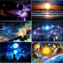 Diamond Embroidery 5D outer space star pictures FULL DIY  painting cross stitch diamond mosaic decoration GIFTs