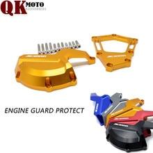 купить New Arrival high quality Motorcycle Engine Guard Protect Saver Cover Slider Protector for BMW S1000RR HP4 K42 K46 2009 -2015 по цене 2010.6 рублей