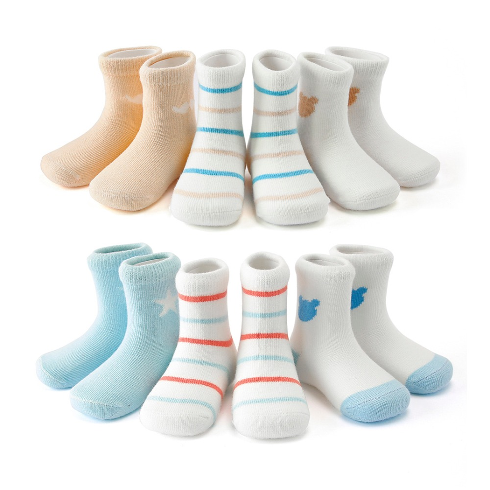 3Pcs Lot Cotton Kids Socks Baby Mesh Breathable For Boys Girls Sock Stripe Cute Birthday Gifts Toddler Children Clothes 1 12Year