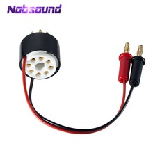Nosound 8 Pin Ống Amp Tấm Thiên Vị Hiện Tại Probe Tester Ổ Cắm cho 6L6 6V6 EL34 KT88 6550