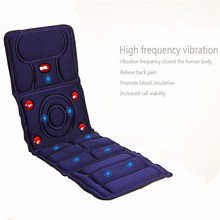 Hoting 8 Mode Full Body Massager Infrared Massage Relieve back fatigue Mattress Cushion Vibration Head Body Foot Massage therapy