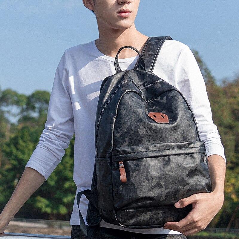 Personality Shoulder Bag Man Waterproof backpackPersonality Shoulder Bag Man Waterproof backpack