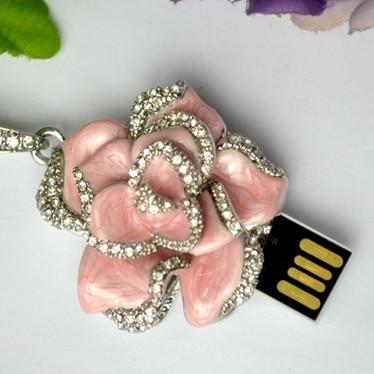 Զարդեր վարդի ծաղիկների նվեր USB Flash Drive - Արտաքին պահեստավորման սարքեր - Լուսանկար 4