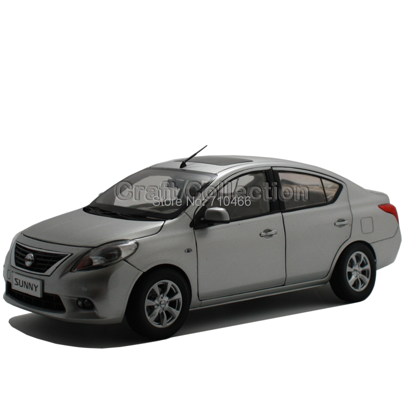 ФОТО Silver 1:18 New Nissan Sentra Tsuru Sunny Alloy Scale Models Brinquedos Diecast Model Mini Car for Sale