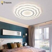2018 Trazos Surface Mounted Modern Led Ceiling Lights Lamp For Living Room Bedroom Lustres De Sala