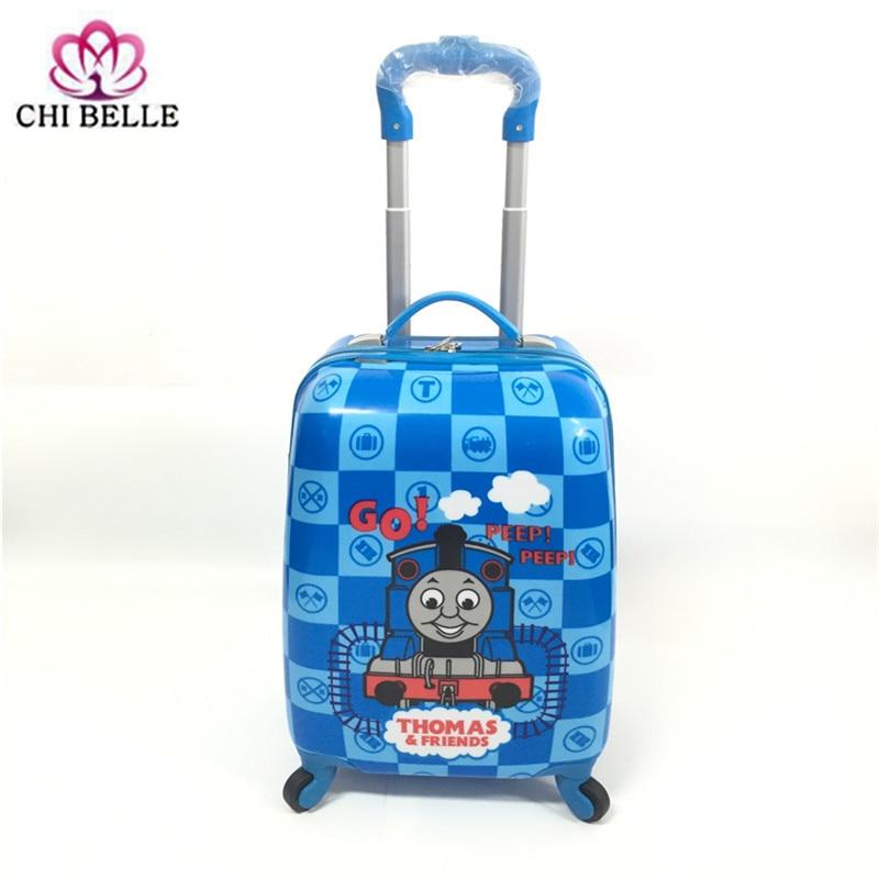 Barn Dra Stång Box PVC Spinner 16-tums 20-tums barn babyväska - Väskor för bagage och resor - Foto 6