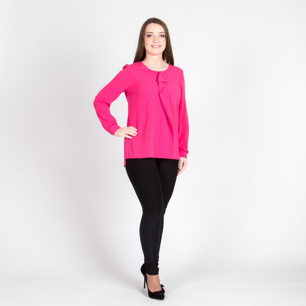 цена Blouses & Shirts Elletto Life 81120 tunic women's clothes jacket female women pink онлайн в 2017 году