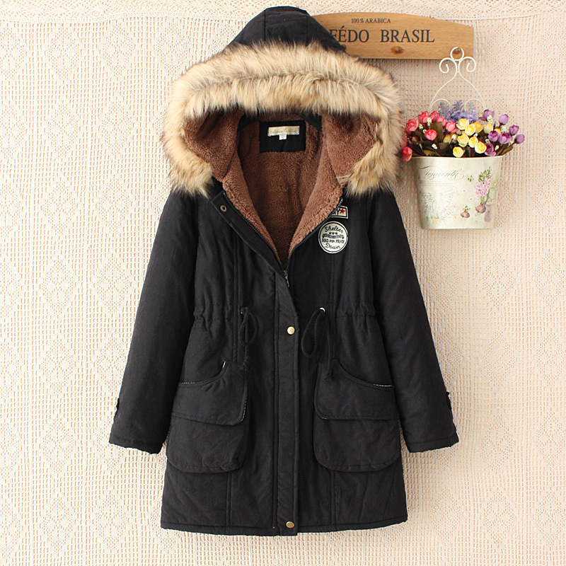 Winter Fur Coat Women   Basic     Jacket   Cotton Long Hooded Ladies   Jackets   Casual Warm Women Winter Coat Clothing Outwear 2019 CJT142