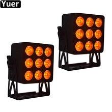 Светодиодный светильник Par 6 в 1, 2 шт./lothree Power, светодиодный светильник s, светодиодный, DMX, эффект мытья, для дискотек, вечерние, для бара, для свадьбы, светильник