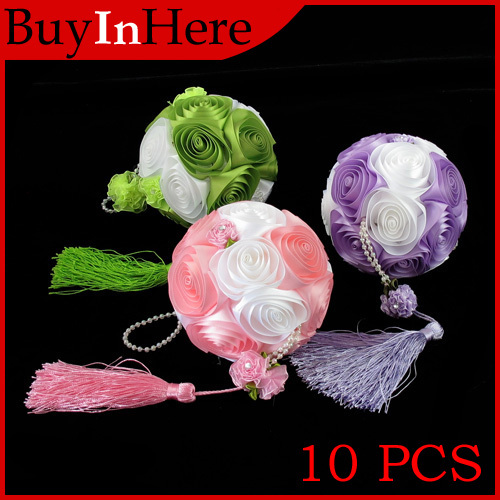 10x silk rose wedding flower ball decoration hanging decorations 10x silk rose wedding flower ball decoration hanging decorations floral supplies romantic artificial flowers wedding bridal mightylinksfo
